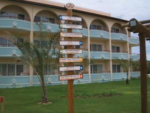 Comunicação visual para hotéis