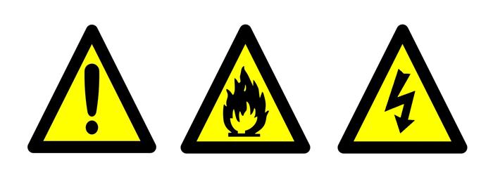8b184da2e0a00 Sinalização de Alerta - Placas Amarelas - ADVComm