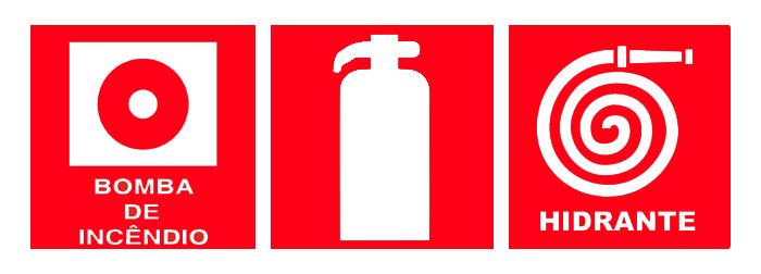 Exemplos de Placas de Emergência