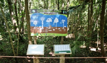Trilha ecológica acessível