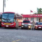 Extintor e Hidrante bombeiros da Paraíba
