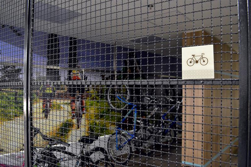 Identificação de ambiente com braille (bicicletas)