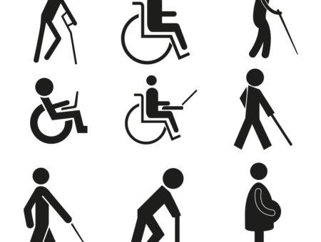sinalização de acessibilidade