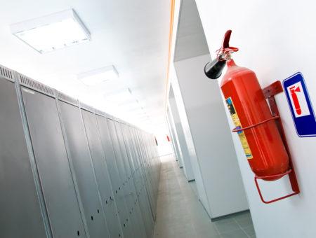 projeto de sinalização de segurança contra incêndio